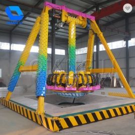 Funfair Ground Pendulum Swing Ride, Custom 6 chỗ ngồi Mini Frĩaee Ride